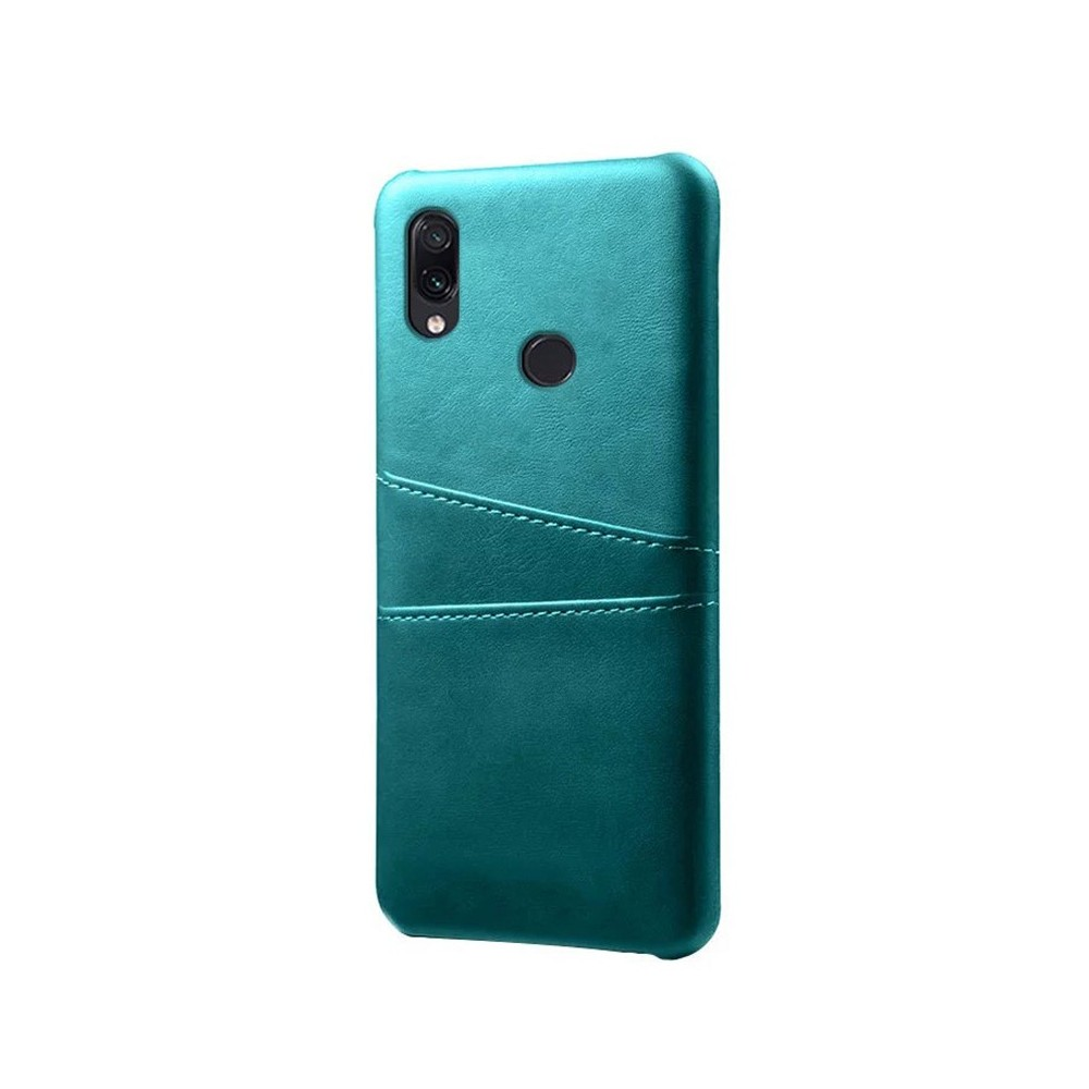 Pouzdro Fashion case pro Redmi Note 7, záda koženka tyrkysová